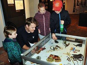 Regionální muzeum v Teplicích pořádalo v sobotu Den archeologie