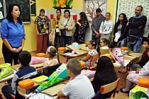 Zahájení školního roku na Základní škole Maxe Švabinského v Teplicích