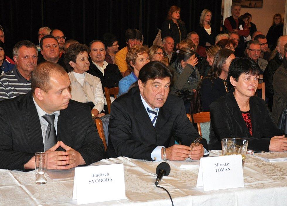Ustavující zastupitelstvo města Duchcov