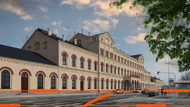 Jedna z největších nádražních budov v Česku, budova nádraží v Teplicích, projde zásadní proměnou.