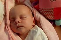 Eliška Hůlková se narodila mamince Štěpánce Malíkové ze Štrbic v ústecké porodnici 24. března. Měřila 45 cm a vážila 2745 gramů.