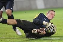 Trénink FK Teplice. Tomáš Grigar