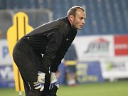 Trénink FK Teplice. Martin Slavík