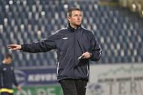 Trénink FK Teplice. Jiří Plíšek