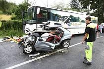 Tragická nehoda u Bílky
