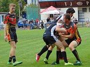 Zápas RLC Dragons - Orli Havlíčkův Brod se hrál v Proboštově.