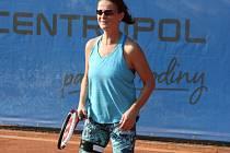 Tenisový turnaj Masarykovy nemocnice Ústí nad Labem. Na snímku je Kateřina Ciprová.