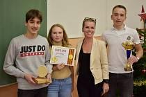 Obchodní akademie Teplice pořádala soutěž Mladý ekonom okresu Teplice. Vítězové ze ZŠ Buzulucká