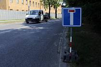 Značka slepá ulice. Ilustrační fotografie.