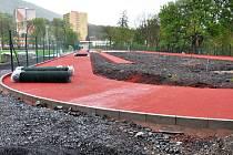 Stávající sportovní areál v Oseku prošel obrovskou proměnou.