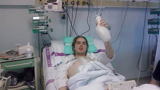 František Bílek je po transplantaci