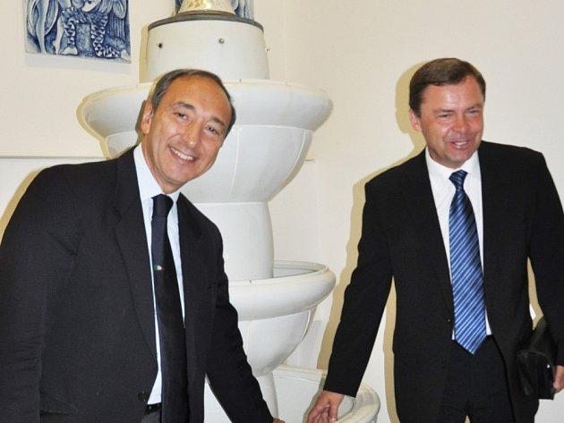 Italský velvyslanec navštívil Dubí