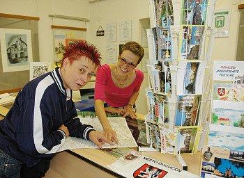 V Městském informačním centru v Duchcově