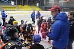 První oficiální trénink přípravek HC Teplice