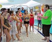 Dům dětí a mládeže v Teplicích uspořádal tradiční Plaveckou soutěž měst.