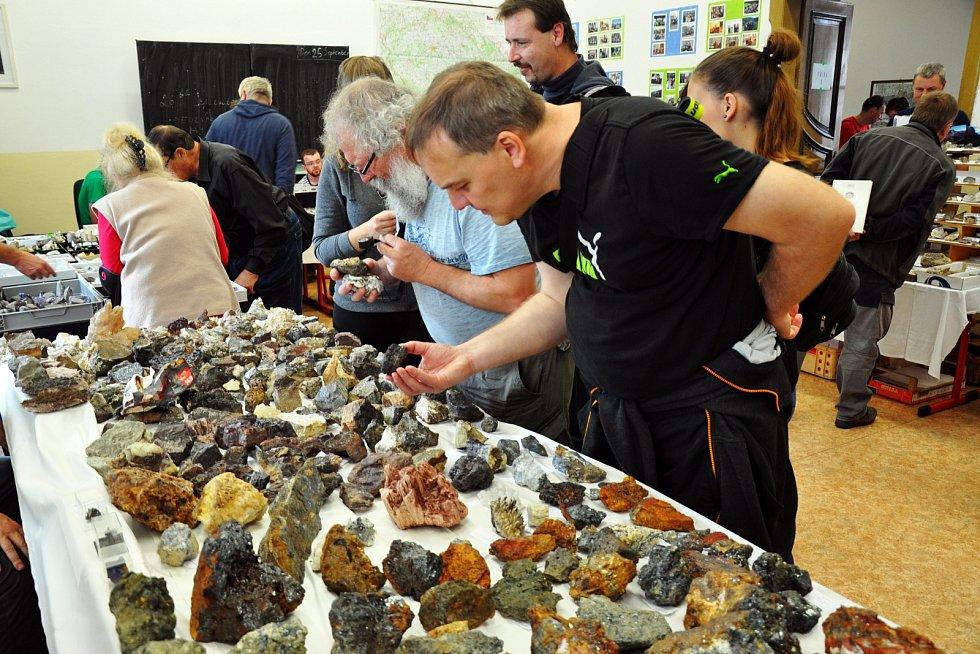 Burza minerálů na teplickém gymnáziu