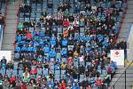 PARÁDNÍ NÁVŠTĚVA. Zatímco v září přišlo na zápas reprezentační dvacítky s Německem do Jablonce jen několik nadšenců, na Stínadlech vidělo Anglii přes tři tisíce fanoušků.