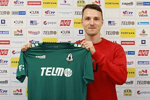 Michal Jeřábek s novým dresem