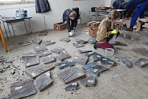 Obří mozaiku zachránilo muzeum.