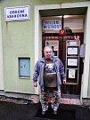 Volební sobota v Mikulově v Krušných horách na Teplicku. V této horské obci do 10 hodin odvolilo kolem padesáti procent voličů.