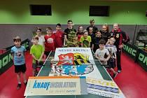 Stolní tenisté TJ Krupka