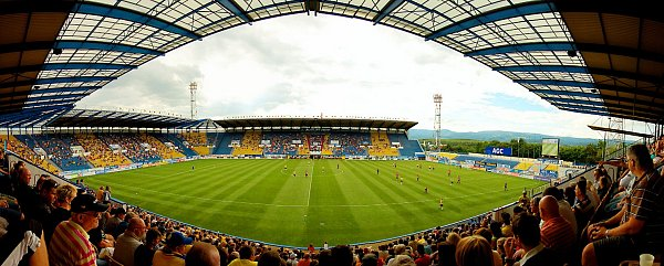 Stadion FK Teplice.