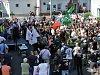 FOTO: Krajní pravice si dala dostaveníčko v Dubí. Padala silná slova