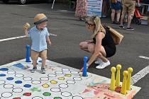 Teplické Centrum pro celou rodinu uspořádalo den dětí na Stínadlech.