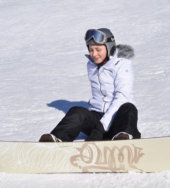 Zimní radovánky ve Sport centru Bouřňák.