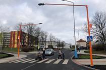 Přechod v Bohosudovské ulici v Teplicích je bezpečnější