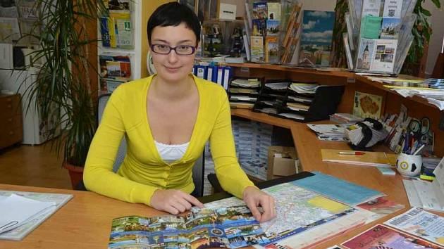 Markéta Beránková pracuje v teplickém infocentru.