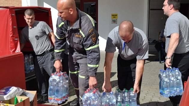 Vaše humanitární pomoc z Teplicka směřuje do zatopených oblastí na Litoměřicku, Ústecku a Děčínsku