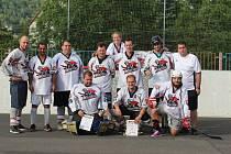 Hokejbalový turnaj v Krupce - Chlumec