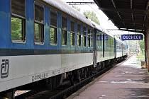 Vlaková stanice v Duchcově