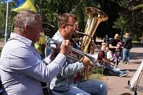 Dechovka Doubravanka zahraje v Šanovské mušli v sobotu odpoledne.