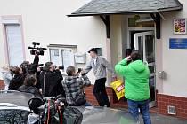 První propuštění vězni v rámci amnestie v Teplicích