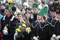 Účastníci pietního aktu uctili památku obětí nelsonské tragédie.