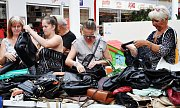 Dobročinný kabelkový bazar v Olympii.