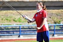 Na snímku je česká reprezentantka Kateřina Patková