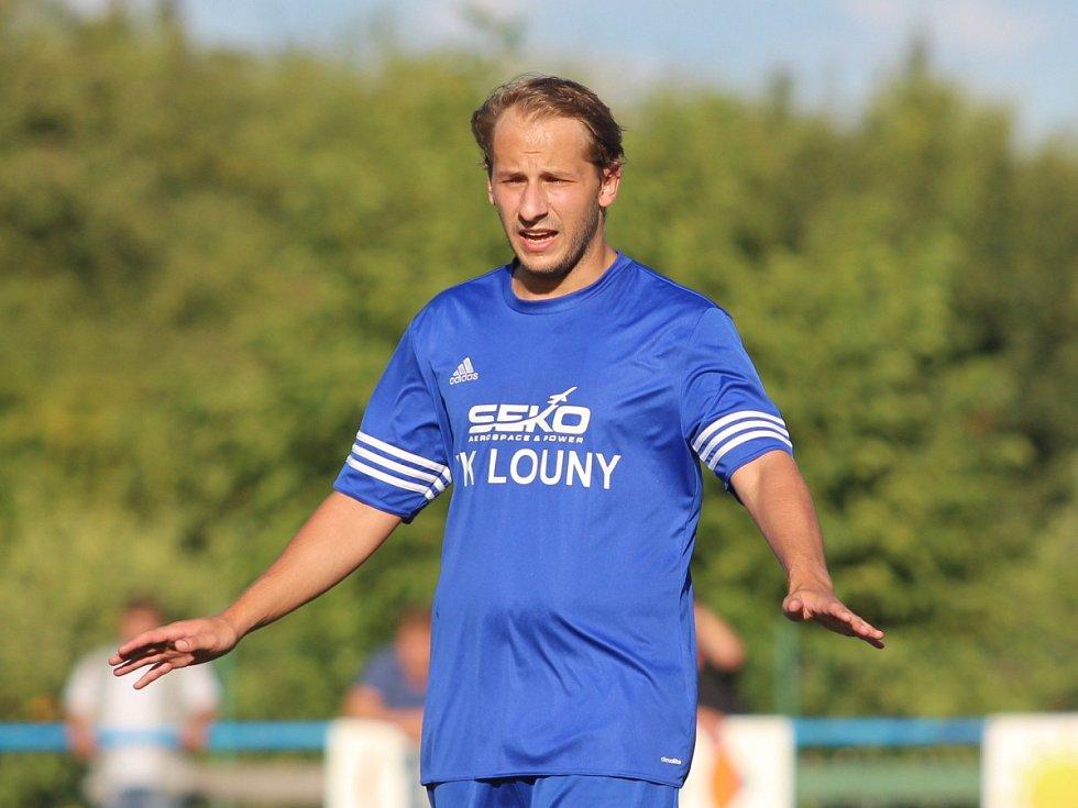 Modlany - Louny (v modrém) 0:2