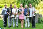 Koncert v Botanické zahradě v Teplicích.
