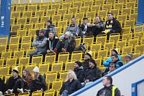 Diváci na fotbale Teplice  - Olomouc