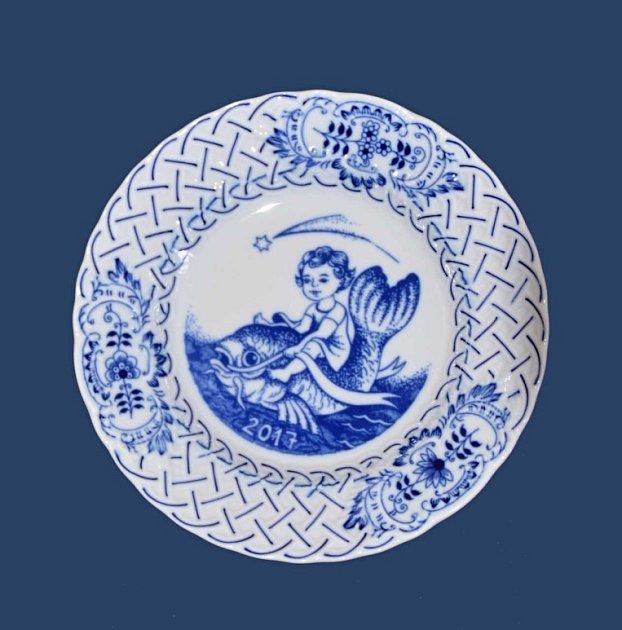 Porcelánka vDubí vyrobila vpořadí už 27.výroční talíř.