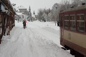 Moldava pod sněhem, 12. ledna 2019