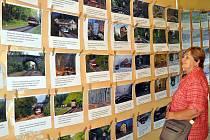 Výstava fotografií železniční trati Most - Moldava v Krušných horách byla k vidění na nádraží v Dubí. Kromě výstavy Ladislava Našincová,seznámila návštěvníky i se systémem provozu nádraží a jeho zabezpečením, které v té době obstarávolo elektromechanické