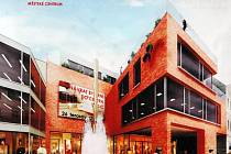 Fontána - nový multifunkční komerční prostor v centru Teplic