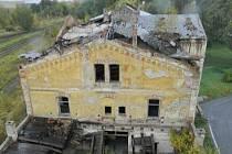 Staré nádraží v Duchcově.