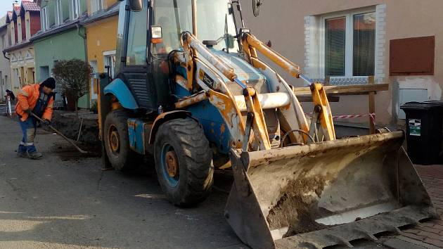 Rekonstrukce kanalizace v Meziškolní ulici v Proboštově