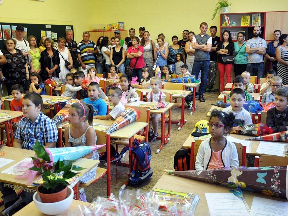 První školní den ZŠ Maxe Švabinského