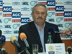 Šéf FK Teplice František Hrdlička